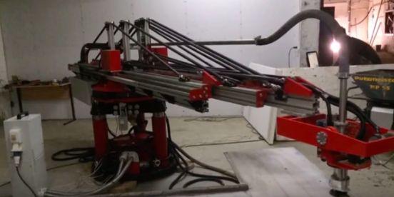 строительный 3d принтер1