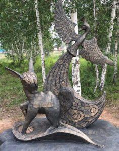 бетонные скульптуры