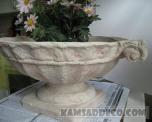 вазы из бетона