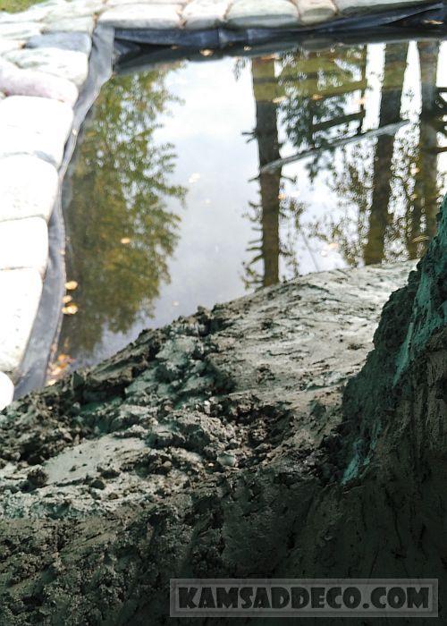 скала у бассейна 1