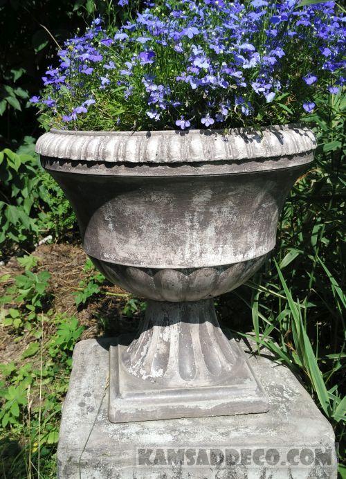 ваза из бетона