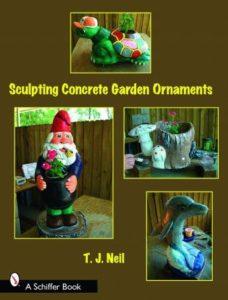 Книга Т.Нила об изготовлении садовых фигурок
