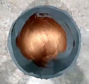 бетонные шары-свет