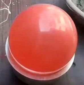воздушный шарик - основа для бетонного