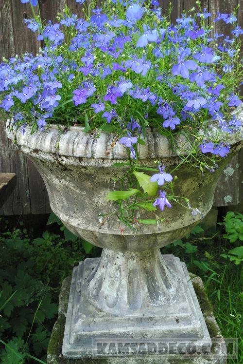 бетонная ваза