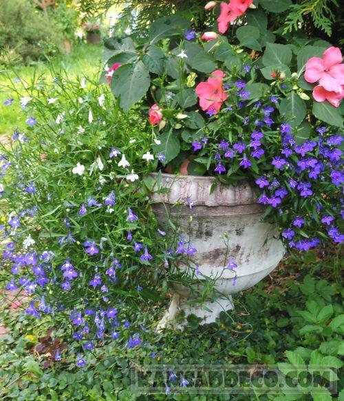 бетонная ваза1