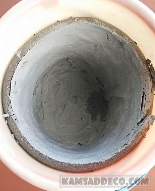 смесь 2 для бетонного горшка