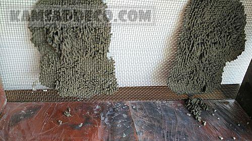 металлическая сетка для штукатурки 1-1
