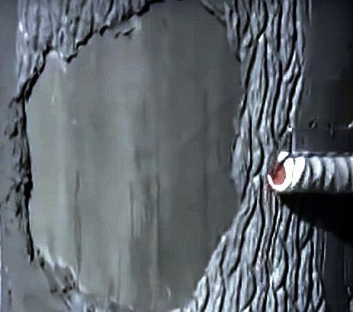 декоративный валик под кору дерева