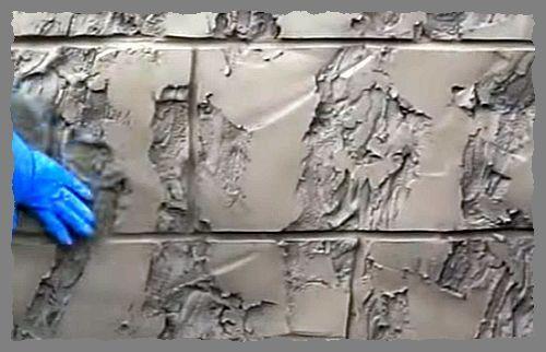 стена под камень 2
