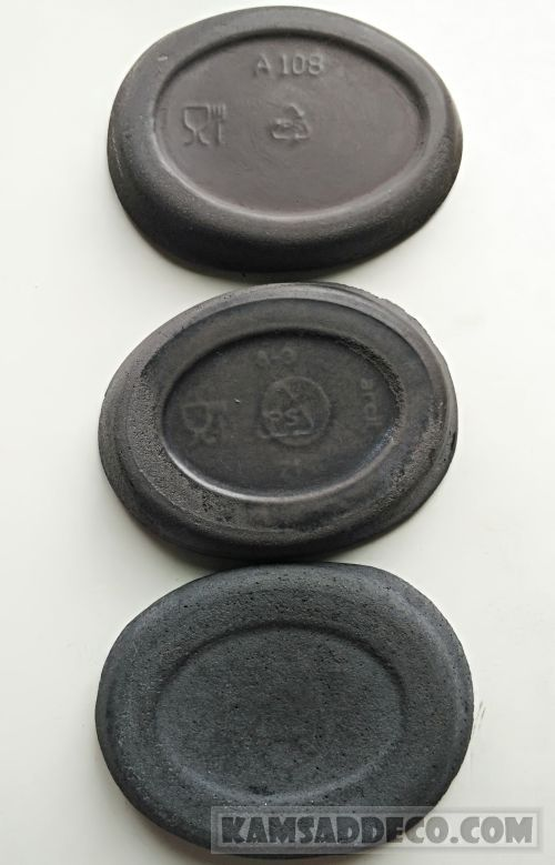 черный бетон - сравнение