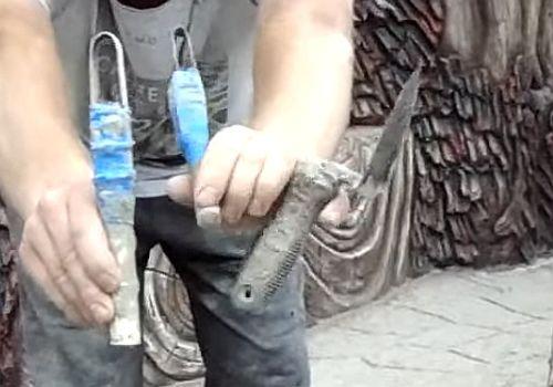 инструмент для резки швов