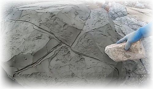 формирование рельефа камня