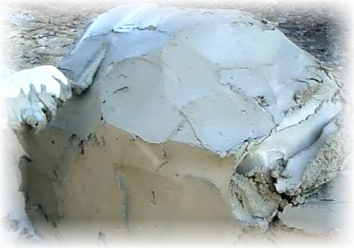 выравнивание поверхности камня
