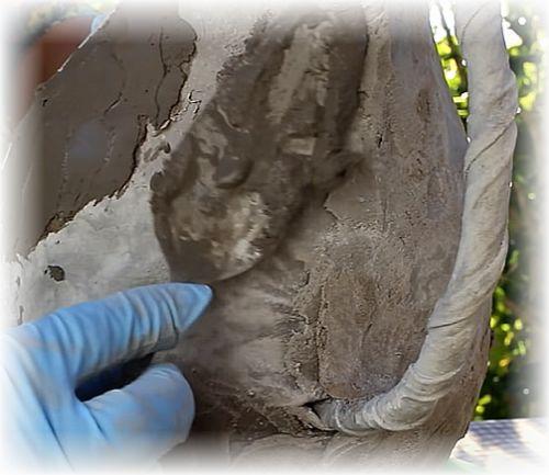 выравнивание цементной смесью