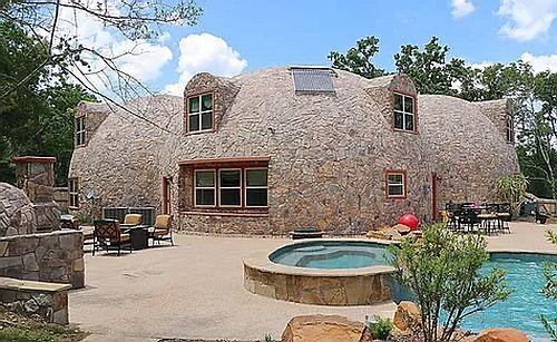 купольный дом - комплекс