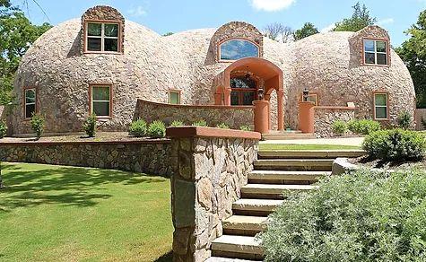 купольный дом сфера
