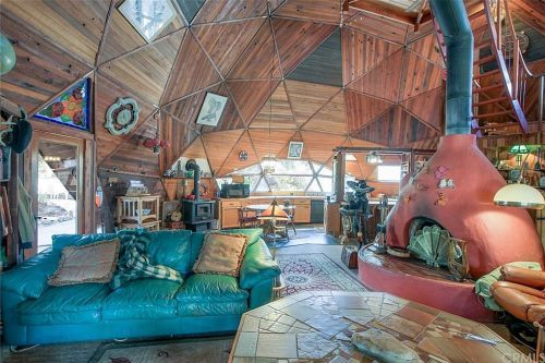 дом геогриб внутри