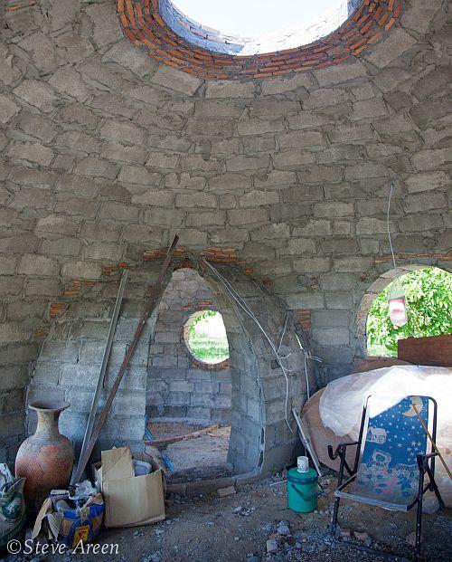 круглый дом изнутри
