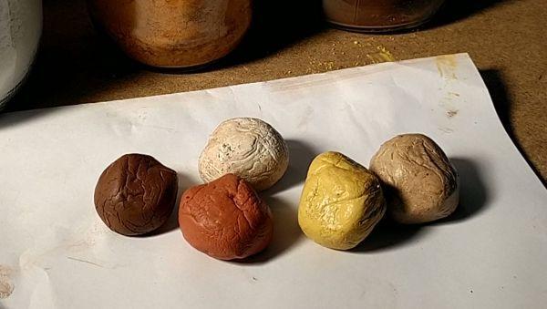 5 цветов окраски полимерной глины