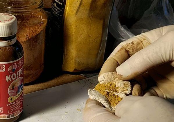сухой пигмент для окраски полимерной глины